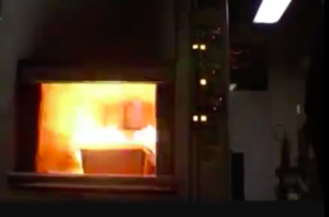 Cremation Process Furnace