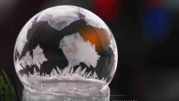 Freezing Bubbles