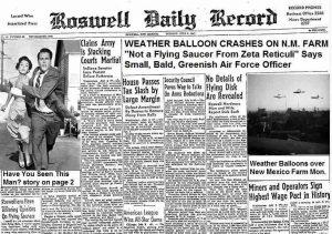 Secret Space Program - Roswell Weather Balloon