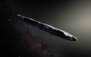 Secret Space Program cigar shaped asteroid