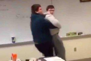 snowflake meltdown kids carries him