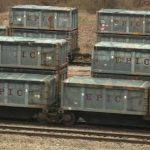 biowaste stranded trains