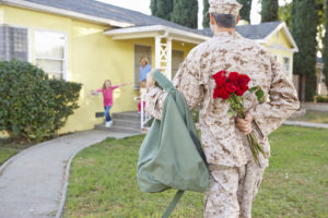 post-service-financial-safety-net- family-welcoming-husband-home-on-army-leave