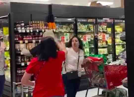 Angry Mob Scream At Woman For Not Wearing A Face Mask